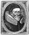 John Woodall. Line engraving by G. Glover, 1639. Wellcome M0005676.jpg