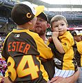 Jon Lester and his boys watch the 2016 T-Mobile -HRDerby (27957924764).jpg