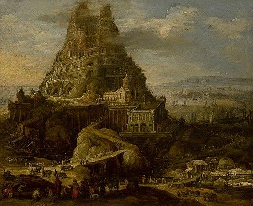 Joos de Momper (1564-1635) - Toren van Babel - Lissabon Museu Nacional de Arte Antiga 19-10-2010 16-12-79