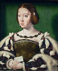 Joos van Cleve: Portrait of Eleanor of Austria, Archduchess of Austria