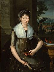 Portrait of Doña María Luisa Gonzaga Foncerrada y Labarrieta