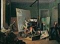 Josef Danhauser - Komische Szene im Atelier - 2552 - Kunsthistorisches Museum.jpg