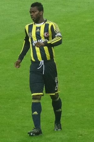 Joseph Yobo - Yobo playing for Fenerbahçe in 2012