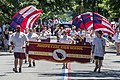 Joseph Case High School march in the Bristol Fourth of July Parade 2017.jpg