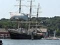Joseph Conrad, ship moored at Mystic Seaport in Connecticut, USA.jpg
