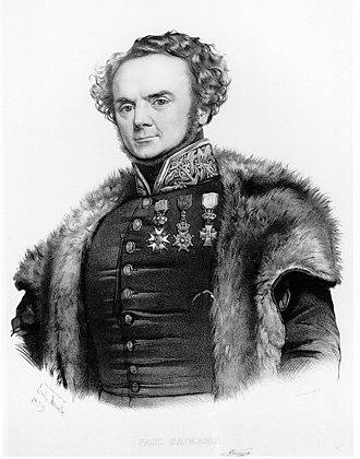 Joseph Paul Gaimard - Joseph Paul Gaimard (lithograph by Émile Lassalle)