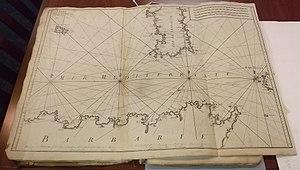 Roux family (marine painters) - Image: Joseph Roux Carte de la mer Mediterranee en douze feuilles 3
