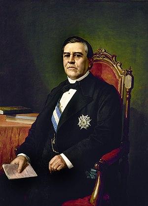Juan Bravo Murillo - Portrait by Manuel García Hispaleto
