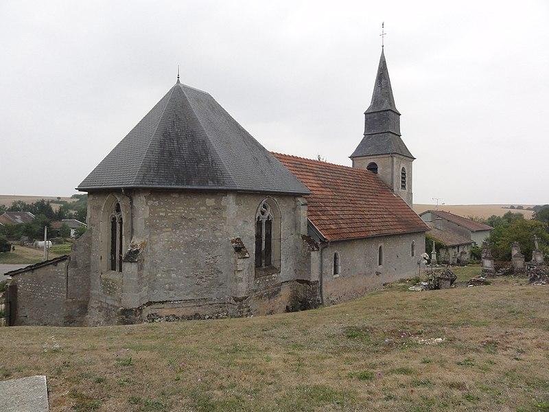 Jubécourt (Clermont-en-Argonne, Meuse) église