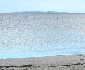 Æbelø - Æbelø as seen from Juelsminde