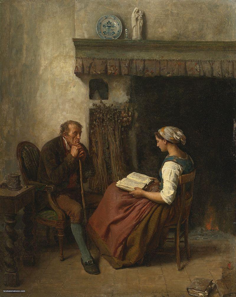 Jules Breton, 1865 - La lecture.jpg