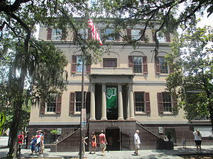 Juliette Gordon Low - The Juliette Gordon Low Birthplace in Savannah, Georgia, is open for tours to the public.