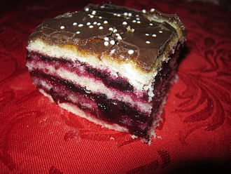 Blackcurrant - In Lithuanian cuisine, Juodųjų serbentų pyragas, or blackcurrant pie, is a popular dessert.