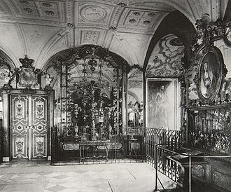 Grünes Gewölbe - Juwelenzimmer in 1904 (destroyed 1945)