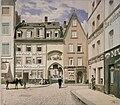 Köln Heumarkt Eingangstor zur Fleischhalle und Relief.JPG