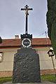 Kříž v obci, Újezd u Boskovic, okres Blansko.jpg