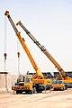 KATO truck cranes in Baghdad, Iraq.jpg