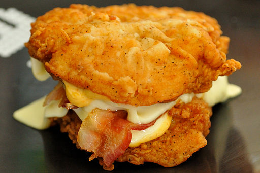 "KFC Double Down ""Sandwich"""