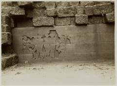KITLV 28017 - Kassian Céphas - Unfinished relief of the hidden base of Borobudur - 1890-1891.tif
