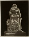 KITLV 28324 - Isidore van Kinsbergen - Sculpture -back- from 1322 of Shiva as holy watcher Panataran, Kediri - 1867-02-1867-06.tif
