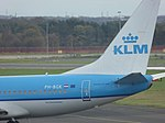 KLM (PH-BGK), Newcastle Airport, November 2015 (03).JPG