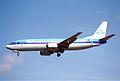 KLM Boeing 737-406; PH-BTA@LHR;04.04.1997 (5491306237).jpg