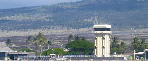 Kona International Airport - Image: KOA.Control tower.2009