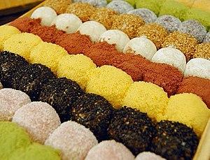 Gomul - Image: KOCIS gyeongdan, sweet rice balls (4646996328)