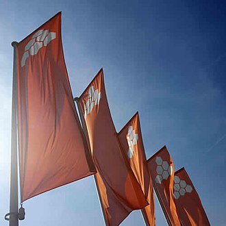 Katoen Natie - Katoen Natie company flags