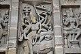 Kailasanatha Temple, dedicated to Shiva, Pallavve period, early 7th century, Kanchipuram (55) (37457246011).jpg