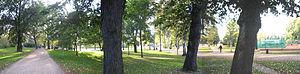 Kaisaniemi Park - Kaisaniemi park during the summer of 2005