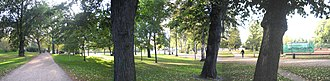 Kaisaniemi Park - Kaisaniemi park during the summer of 2005