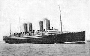 Hapag-Lloyd - The NDL liner Kaiser Wilhelm II, which made its maiden voyage in 1903