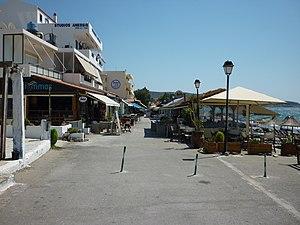 Strandpromenade von Kalamaki