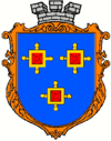 Coat of arms of Kamianka-Buzka