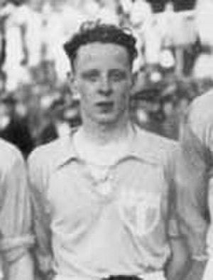 Karl-Erik Palmér - Palmér in Malmö FF in 1949.