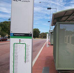 Karrinyup, Western Australia - Karrinyup Bus Station (Transperth)