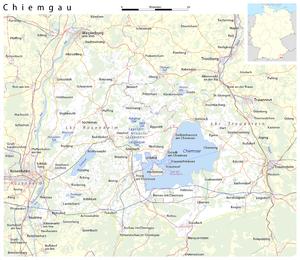 Map: Chiemgau