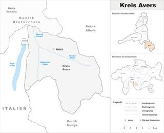 Avers (Kreis) Sub-district in Switzerland