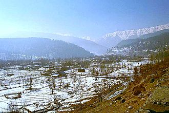Jammu and Kashmir - Kashmir Vale with an average elevation of 5,249 ft
