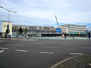 Kassel Hauptbahnhof German railway station