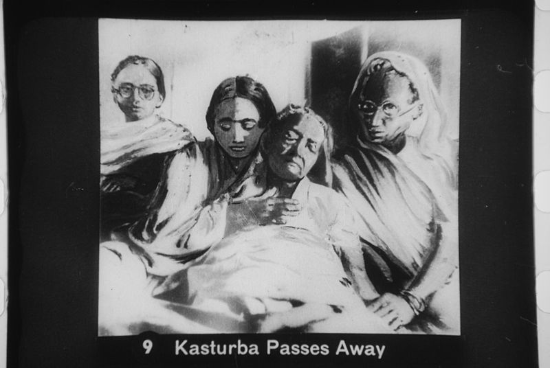 File:Kasturba Gandhi passes away.jpg