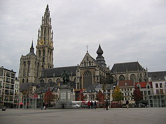 Henry Bredemers - Antwerp's Cathedral of Our Lady, where Bredemers' career started