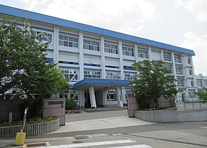 Kawanishi City Higashitani junior high school.jpg