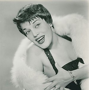 Kaye Ballard - Publicity photo late 1950s