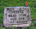 Keep dogs off the grass - geograph.org.uk - 2334917.jpg