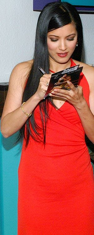 Miss Teen USA - Miss Teen USA 1985 Kelly Hu became a model and a TV and film actress. (Photo taken April 17, 2002.)