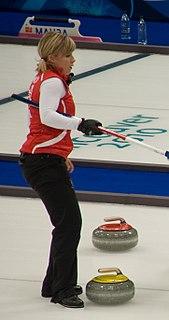 Kelly Schafer Scottish curler