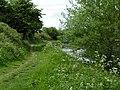 Kennet and Avon canal at Horton Bridge, looking towards Devizes - geograph.org.uk - 1314173.jpg