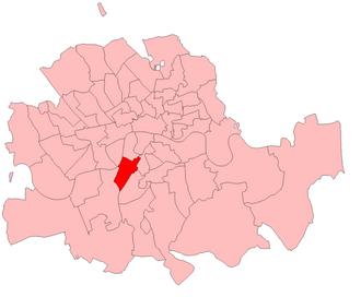 Kennington (UK Parliament constituency) - Kennington in London 1885–1918